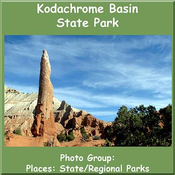 Kodachrome Basin State Park Collection