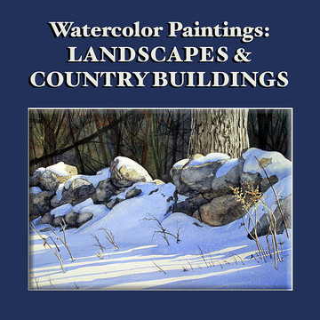 Landscapes and Country Buildings Paintings Collection