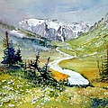 Landscapes Watercolours Prints And Paintings Collection