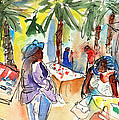 Lanzarote Sketches and Paintings Collection