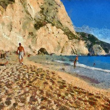 Lefkada island paintings Collection