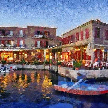 Lesvos island paintings Collection