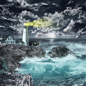 Lighthouse Scene Collection