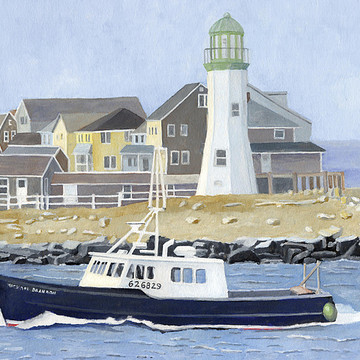 Lighthouses And Harbors Collection