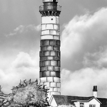 Lighthouses of Michigan Collection