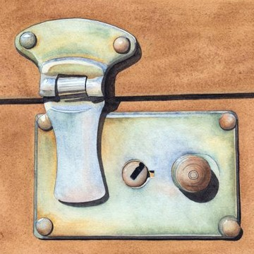Locks and Keys Paintings Collection