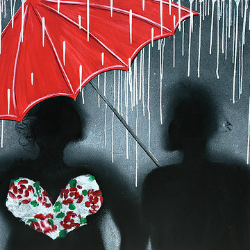 Love Themed Body Prints Paintings Collection