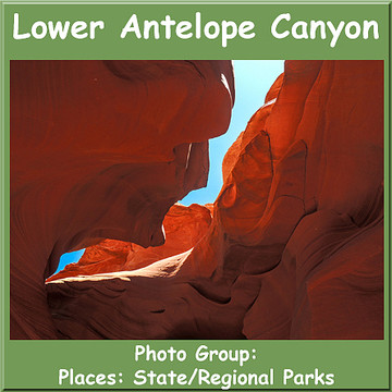 Lower Antelope Canyon Navajo Tribal Park Collection