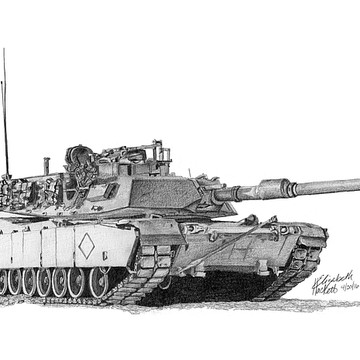 M1A1 Tank with Markings Collection