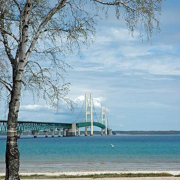 Mackinac Bridge - Suspension Bridge in the United States Of America Collection