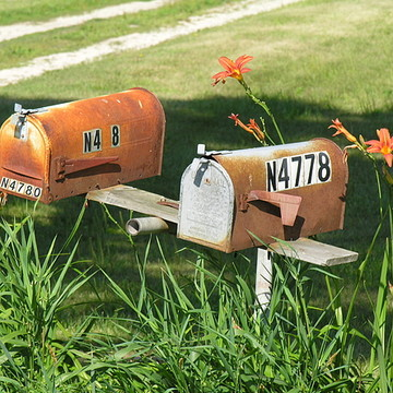 Mail Boxes from around the world Collection