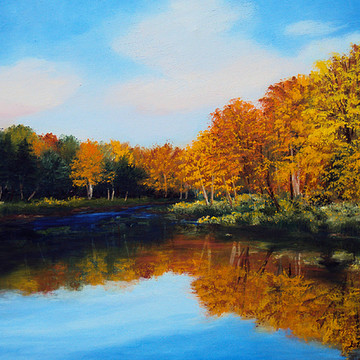 Maine Landscape Paintings Collection