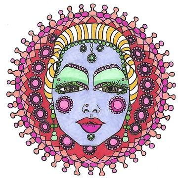 Mandala Faces Collection