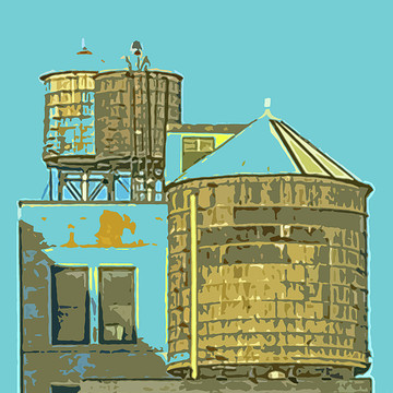 Manhattan Water Tanks Collection