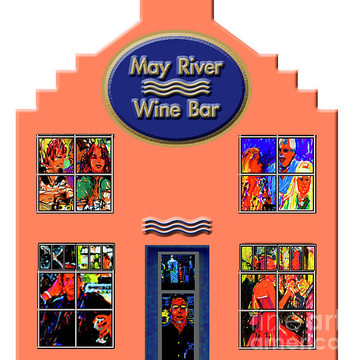 May River Wine Bar in Paint Markers Collection