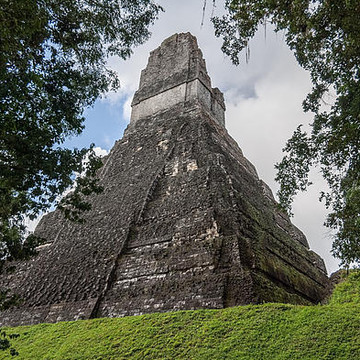 Mayan Pyramids - Artifacts in Belize and Guatemala Central America Collection