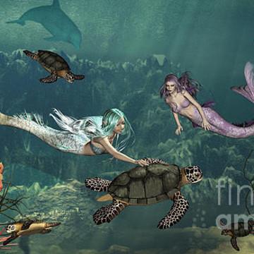 Mermaids Fairies n Dragons Collection