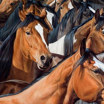 Michelle Grant Horse Art Collection