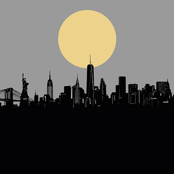 Minimalistic Cityscapes Collection
