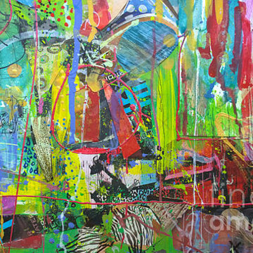 Mixed-Media Abstractions Collection