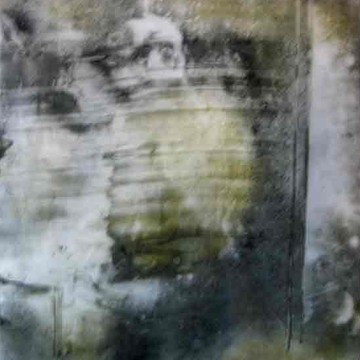Mixed media works on mylar film Collection