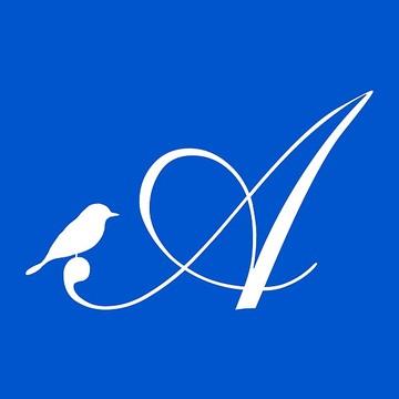 Monogram - Bird & Script Collection