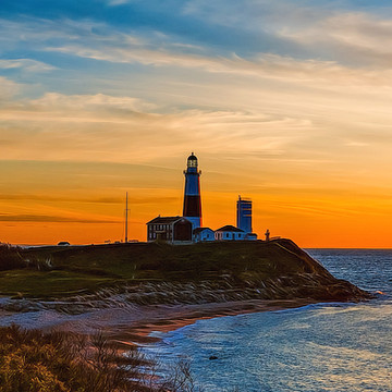Montauk Point New York Collection