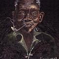 Mouth painter-Chrisfold Chayera Collection