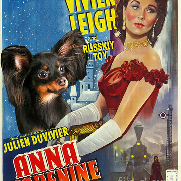 Movie Poster Dog List R Collection
