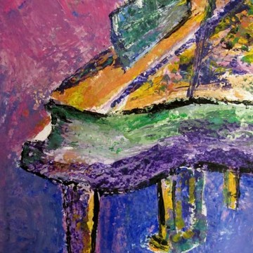 Musical Themed Paintings Collection