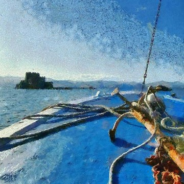 Nafplio town paintings Collection