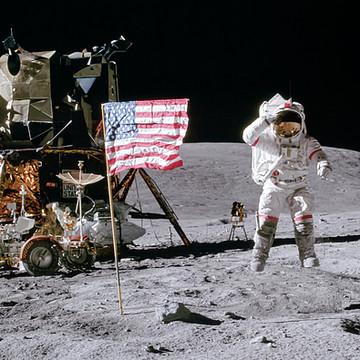 NASA moon mission photos Collection