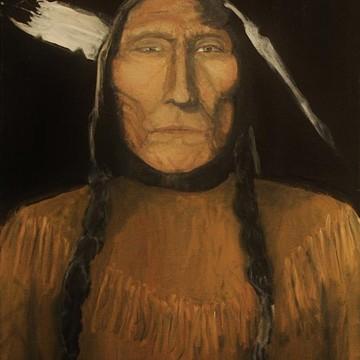 Native American artwork. Collection