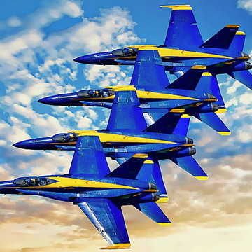 Navy Blue Angels Collection