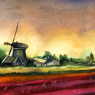 Netherlands Sketches And Paintings Collection