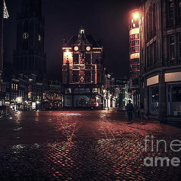 Night Utrecht. Holland Collection