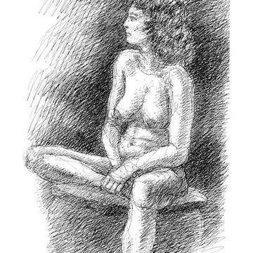 Nude Female Sketches Collection