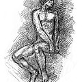 Nude Male Sketches Collection