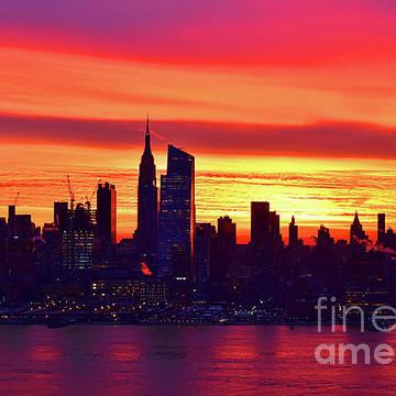 N.Y. Skyline Sunrise Collection