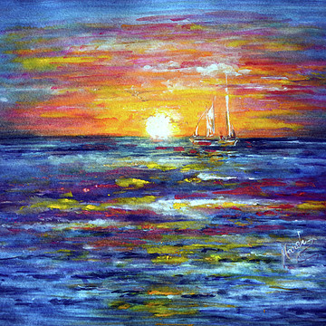 Ocean Paintings and Pictures Collection