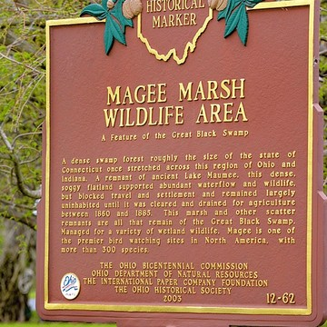 OH Oak Harbor Magee Marsh Wildlife Area Collection