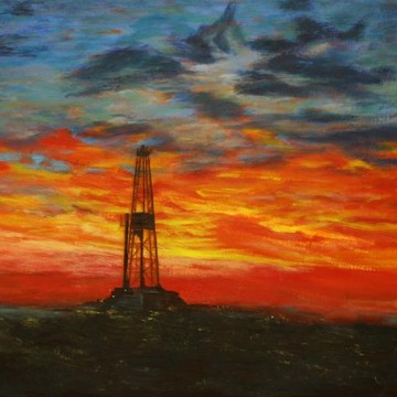 Oil Field Paintings Collection