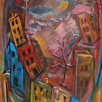 Oil Paintings by Katt Yanda Collection