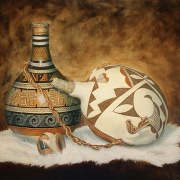 Oil Paintings-Indian Art Collection