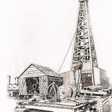 Oil Rigs and such Collection