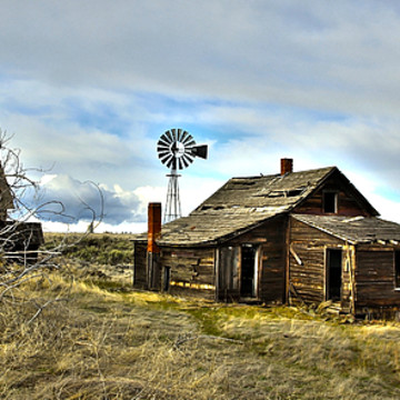 Old Barns and Deserted Buildings Collection