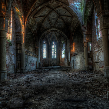 Old Forgotten East German Church Collection