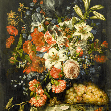 Old Paintings of Flowers Collection