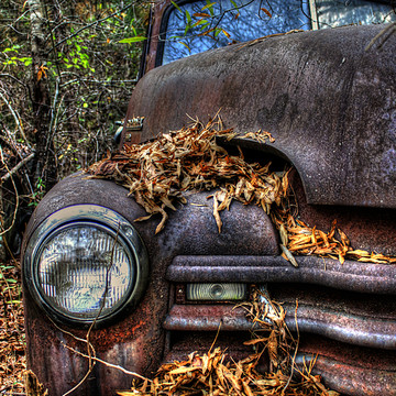 Old Rusted Cars