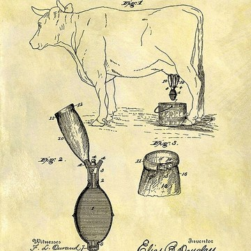 On The Farm-Rustic Patents Collection